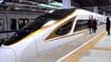 La première ligne de TGV complètement automatisée relie en 47 mn Pékin et Zhangjiakou, distantes de 174 km.