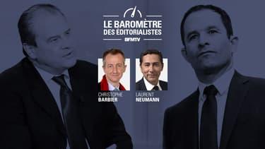 Jean-Christophe Cambadélis et Benoît Hamon.