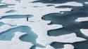 La mer de glace du cercle arctique ressemble désormais à du gruyère.