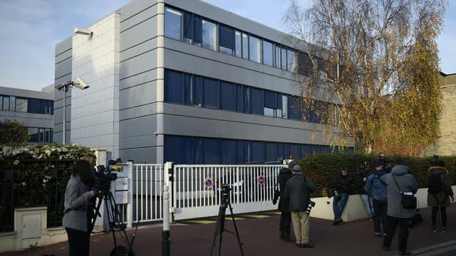 Le siège du Front national, à Nanterre.