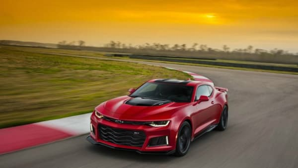 Un moteur de Corvette Z06 pour cette Camaro musclée et agressive, produite pour le marché américain.