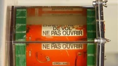 Une des boîtes noires du vol Rio-Paris.