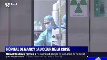 Covid-19: les déprogrammations d'opérations se poursuivent au CHU de Nancy