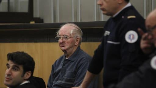 Joachim Toro lors de son premier procès