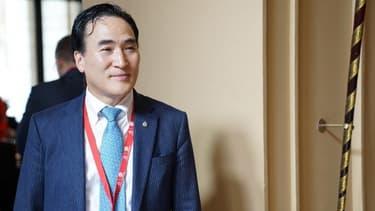 Kim Jong-yang, le nouveau président d'Interpol.