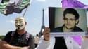 Manifestation de soutien à Eward Snowden à Paris, le 7 juillet 2013.