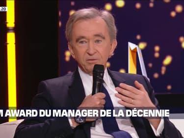 Bernard Arnault PDG de LVMH remporte le Grand prix du manager de la décennie