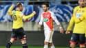 Florian Martin exulte après avoir éliminé Monaco