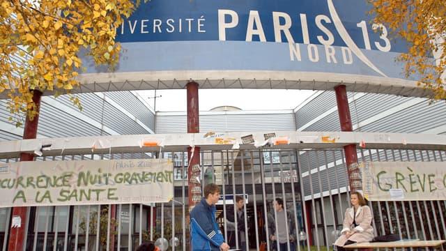 L'entrée de l'Université Paris 13.