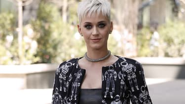 Katy Perry le 4 avril 2017