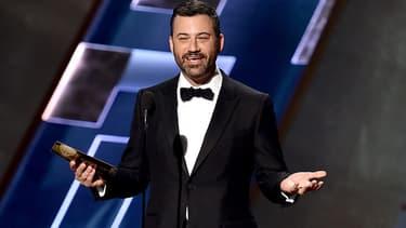 L'animateur Jimmy Kimmel en septembre 2015, lors des derniers Emmy Awards.