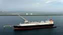 Un cargo transportant du gaz naturel liquéfié part du Japon pour se rendre en Australie
