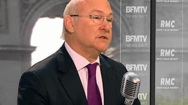 Michel Sapin, ministre du Travail