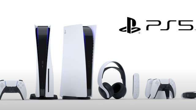 La PlayStation 5 de Sony ainsi que ses accessoires