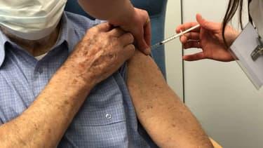 Centre de vaccination contre le Covid-19 de Comines-Warneton en Belgique.