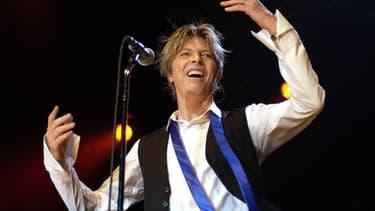 David Bowie, le 12 juillet 2002