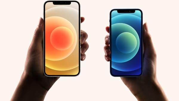 Les iPhone 12 et iPhone 12 mini