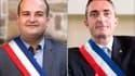 David Rachline et Stéphane Ravier, respectivement maires de Fréjus et du 7ème secteur de Marseille, portent les espoirs du FN aux sénatoriales.