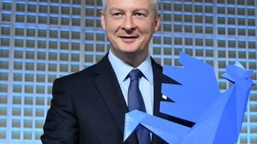 Le coq bleu, symbole du label French Fab.