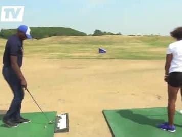 JO 2024 : Flessel et Arron s'essaient au golf