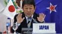 Toshimitsu Motegi, le ministre de l'Économie japonais.