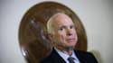 Le sénateur républicain John McCain, le 25 octobre 2017 à Washington DC. - Drew Angerer - Getty Images North America - AFP