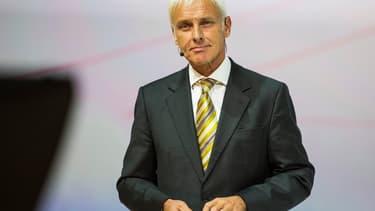 Matthias Müller a été nommé à la tête de VW en plein scandale.