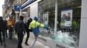 """Plus de 760 établissements bancaires ont subi des dégradations depuis le début du mouvement de contestations des """"gilets jaunes""""."""