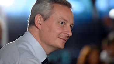 Bruno Le Maire, le 8 octobre 2014.