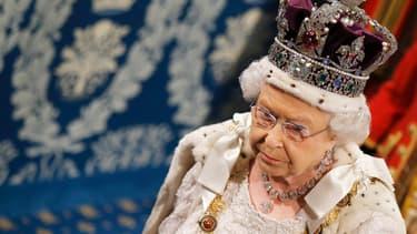La reine Elizabeth II, le 27 mai.