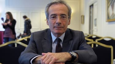 Frédéric Saint-Geours, à la fin de sa conférence de presse le vendredi 5 avril à Paris.