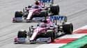 Les Racing Point sur le Grand Prix de Styrie