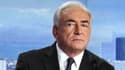 Dominique Strauss-Kahn, le 18 septembre 2011, lors d'une interview télévisée.