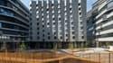 Les trois bâtiments lyonnais de l'ensemble Hikari