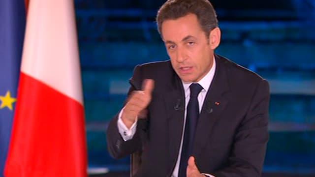 Le président de la République, Nicolas Sarkozy, est à la télévision ce mardi soir (TF1, France 2 et Canal +).