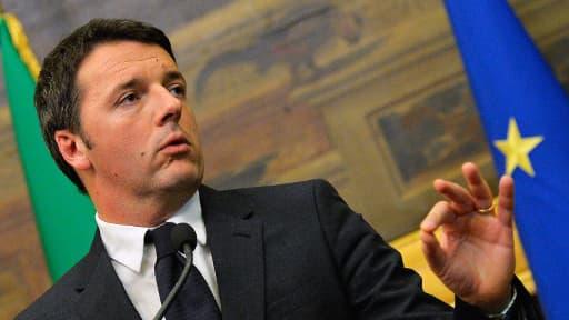 Matteo Renzi comptait sur un retour de la croissance.
