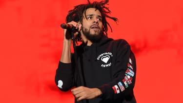 Le rappeur J. Cole en octobre 2016