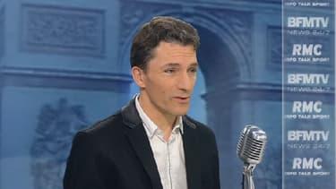 Le juge spécialiste de l'antiterrorisme Marc Trévidic sur le plateau de BFMTV-RMC, le 11 janvier 2016.
