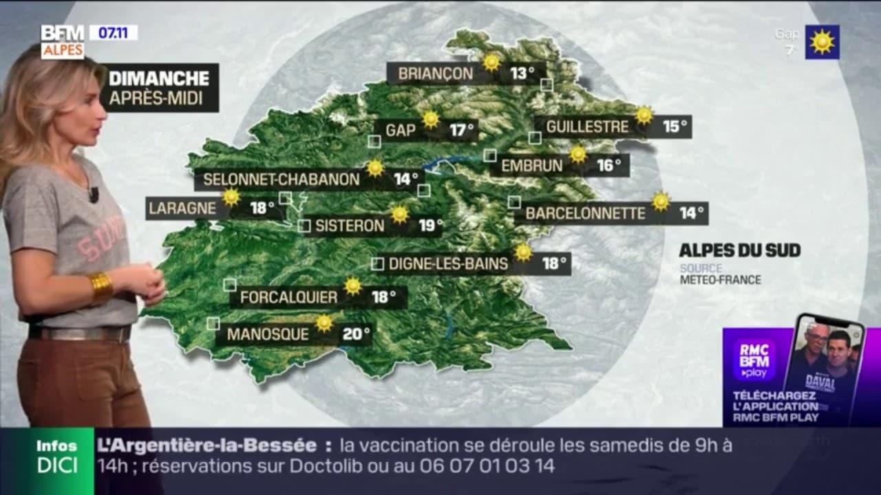 Météo dans les Alpes-du-Sud: le soleil sera au rendez-vous ce dimanche, mais la fraîcheur persiste le matin