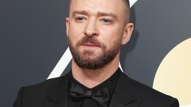 Justin Timberlake aux Golden Globes le 7 janvier 2018.