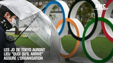 """Coronavirus : les JO de Tokyo auront lieu """"quoi qu'il arrive"""" assure l'organisation"""
