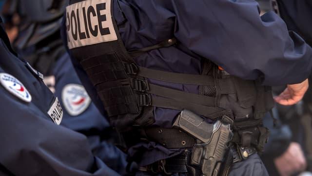 3 policiers ont été rués de coups, vendredi soir, en Seine-Saint-Denis (PHOTO D'ILLUSTRATION)