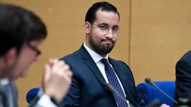 Alexandre Benalla le 19 septembre 2018 au Sénat.
