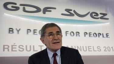 Gérard Mestrallet, qui dirige GDF Suez, est un des patrons visés par les déclarations de Bercy.