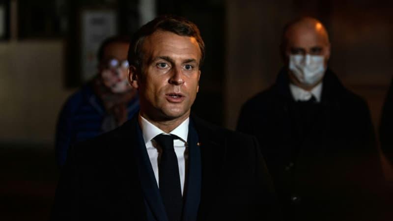 """Emmanuel Macron promet de ne """"jamais accepter les discours de haine"""""""
