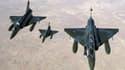 Un Mirage 2000 français a abattu un dépôt d'armement français en Syrie.