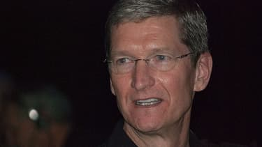 Les bonus de Tim Cook seront indexés sur le cours de Bourse d'Apple.