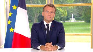 Emmanuel Macron le 14 juin 2020