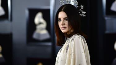 Lana Del Rey aux Grammy Awards, le 28 janvier 2018
