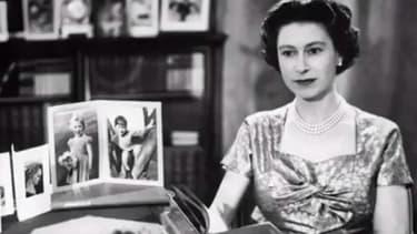 La reine en 1957